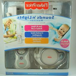 Fisher Price Sounds 'n Lights Baby Monitor Infant