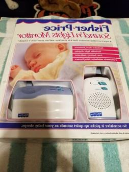 fisher price sounds n lights baby monitor