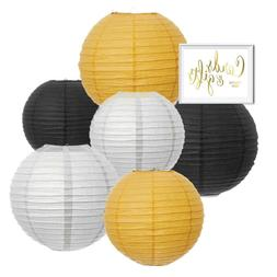 Andaz Press Hanging Paper Lanterns Party Decor Trio Kit with