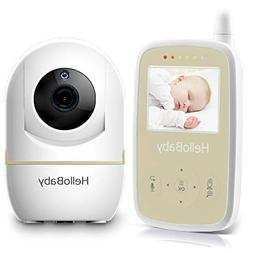HelloBaby HB248 Video Baby Monitor with 2.4Inch Digital Colo