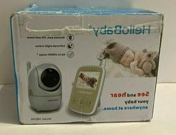 HelloBaby HB248 Wireless Video Baby Monitor with Remote Pan-