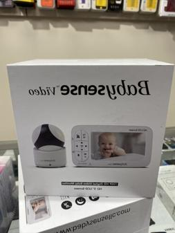 Babysense HD Video Baby Monitor With PTZ Camera and 5 Inch D