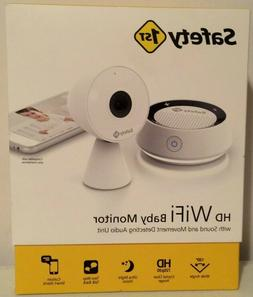Safety 1st HD WiFi Streaming Baby Monitor Camera With Audio