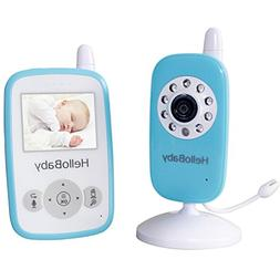 HelloBaby Wireless Video Baby monitor Security Camera with 2