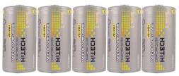 Hitech C Size Rechargeable Batteries Consumer Ni-Mh 5000mAh*