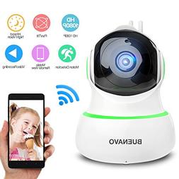 BUENAVO 360° Home Wireless IP Camera 1080P HD, Two Way Tal