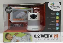 Summer Infant In View 2.0 Video Baby Monitor 29650