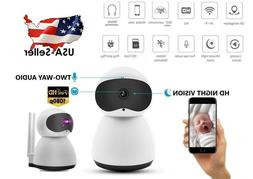 Indoor Wireless Smart Wifi IP Camera 1080P HD Home Business