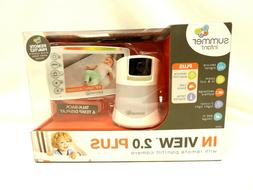 SUMMER INFANT IN VIEW 2.0 PLUS BABY MONITOR W/ REMOTE / PAN