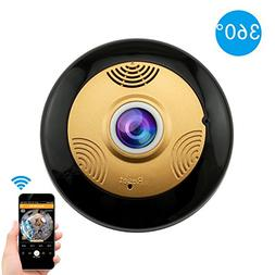 360 Degree IP Camera Home Secutity Panoramic Wifi Wireless H