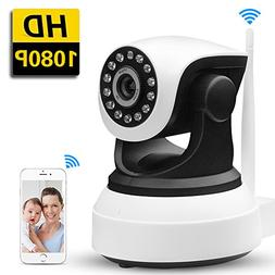 SDETER IP Camera 1080P HD Wireless -Security Camera with PTZ