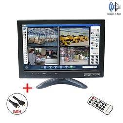 """Sourcingbay IPS101 10"""" IPS TFT LED CCTV Monitor with HDMI Ca"""