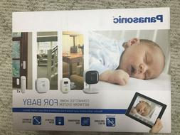 Panasonic KX-HN6022W Smart Home Monitor Baby Monitoring Kit