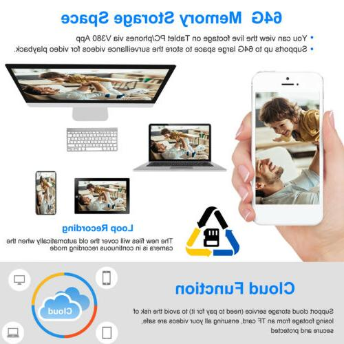 1080P Smart Home Security Camera Wireless Baby Monitor
