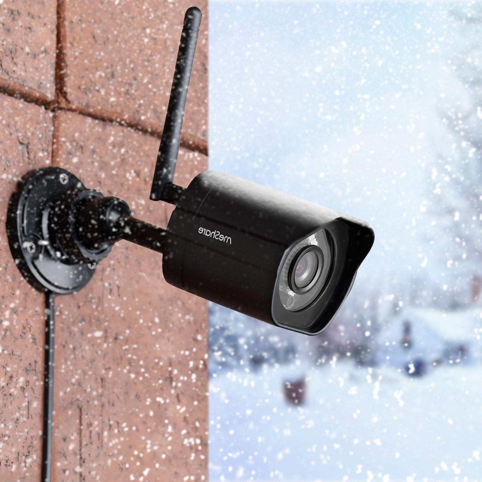 meShare 1080p Outdoor Wireless Security Camera Pack Smart