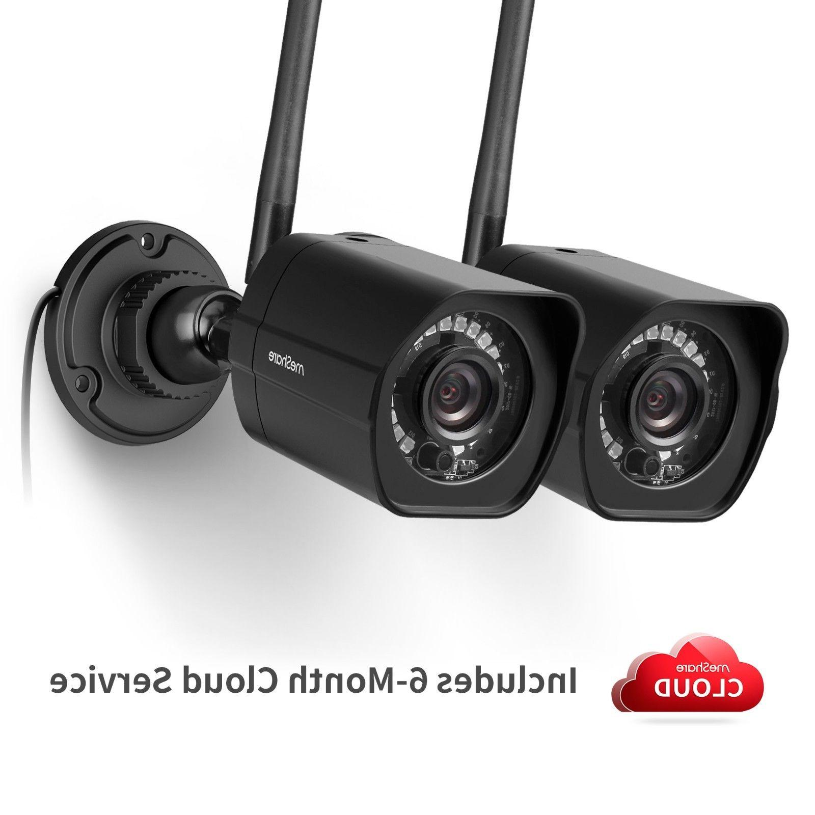 1080p outdoor wireless security camera 2 pack