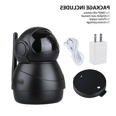 1080P Security Camera WiFi Wireless Monitor IPC System