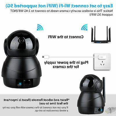 1080P WiFi Wireless Talk Baby Monitor CCTV IPC Home System