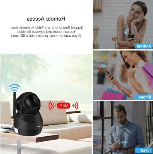 1080P Security Camera Wireless Audio Monitor Home System