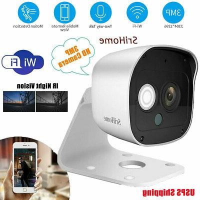 1080p wireless security camera indoor home smart