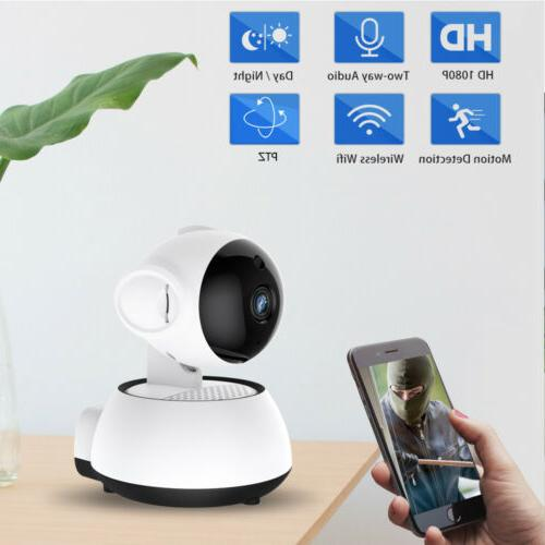 1080P Wireless Security CCTV IP Camera Smart WiFi Night Visi