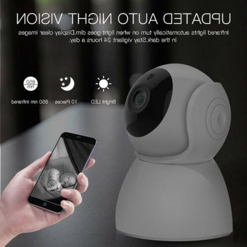 1080P Wireless Baby Pet Monitor Vision Alarm IP CCTV Camera