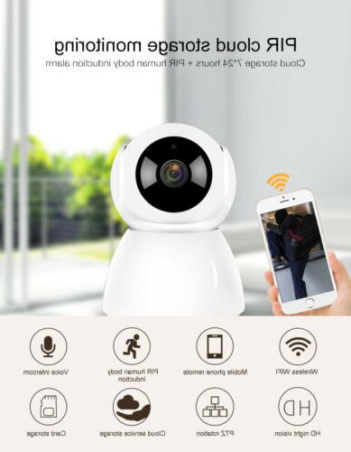 1080P Pet Vision Alarm IP Camera