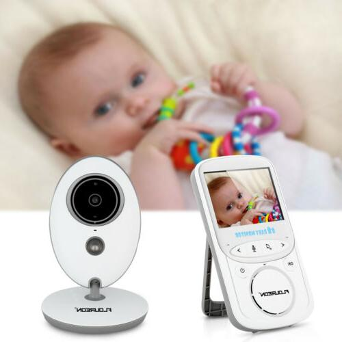 "2.4"" Digital Baby Monitor Video 2 Way Vision"