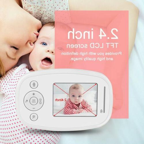 2.4GHz Color LCD Baby Night Video