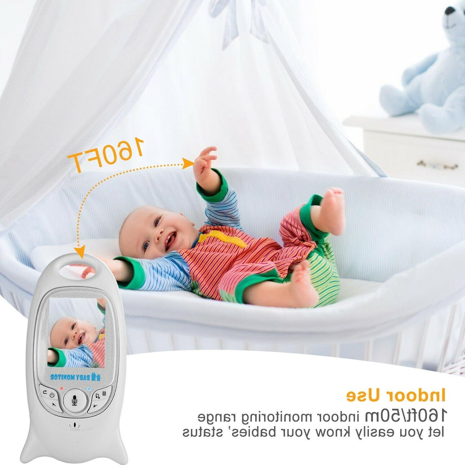 "2"" Digital Wireless Baby Monitor 2 Vision"