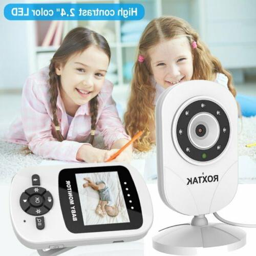 "Video Baby Monitor 2-Way Talk 2.4"" Wireless Vision MY"