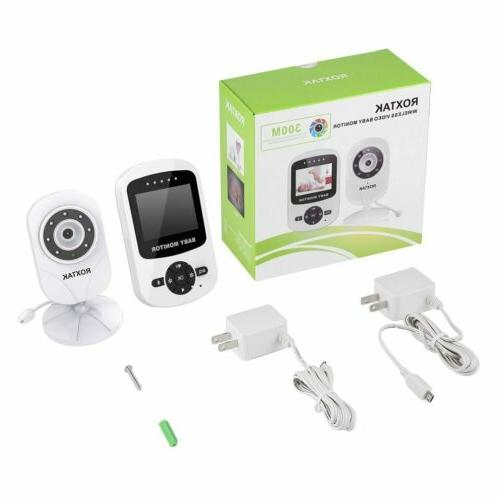 Video Monitor 2-Way Talk Wireless Night MY