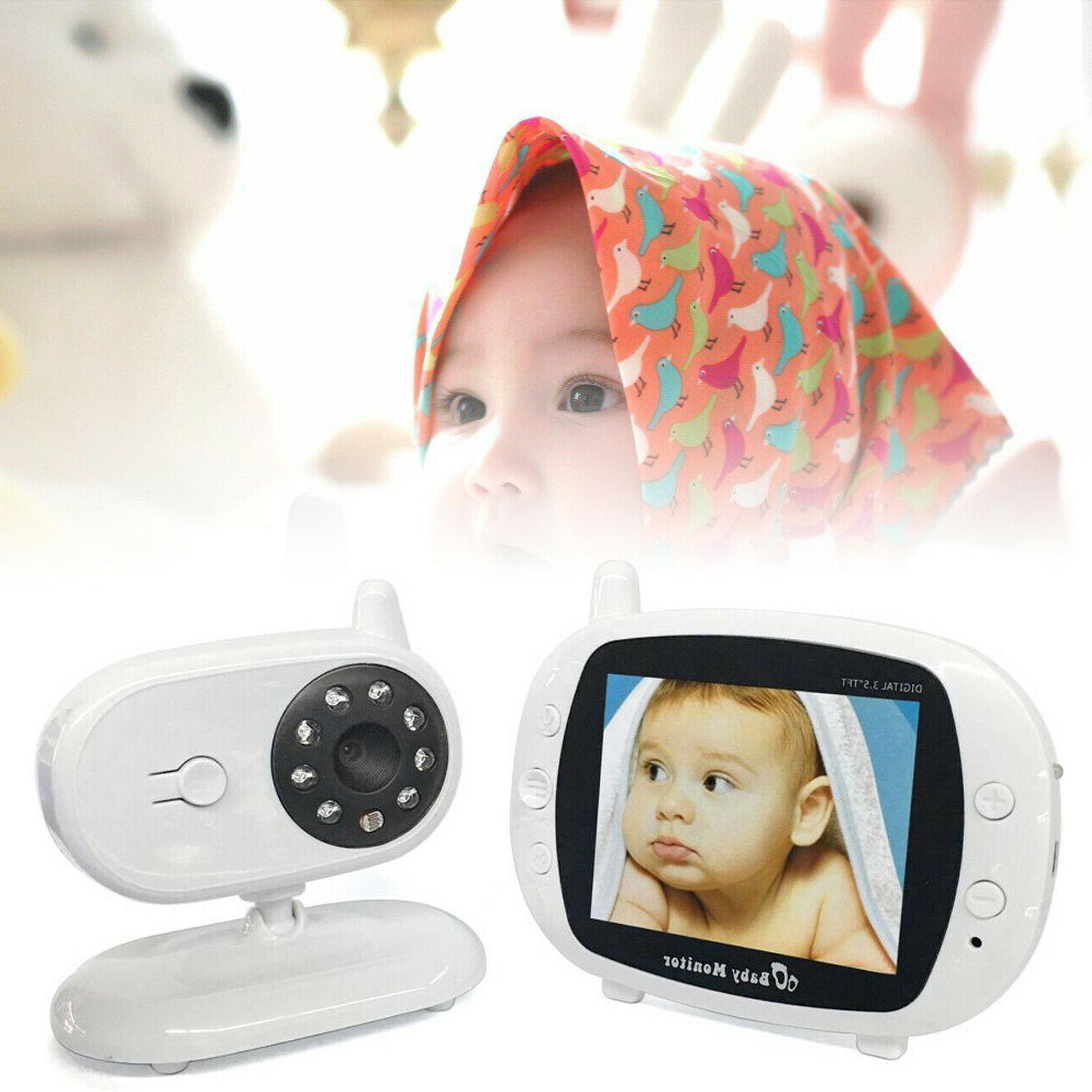 2 way audio video play baby monitor