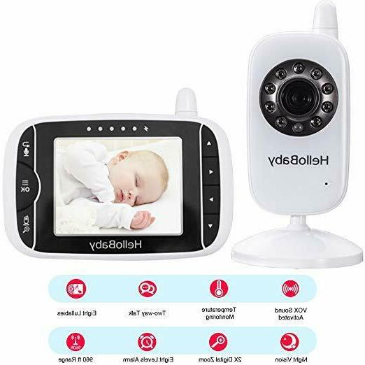 HelloBaby 3.2 Baby Monitor with Vision & Tw