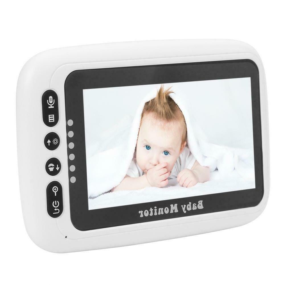 4.3 inch LCD Baby Monitor Infant Safety Monitoring Equipment