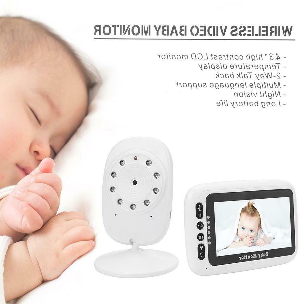 4.3 Wireless Baby Infant Safety