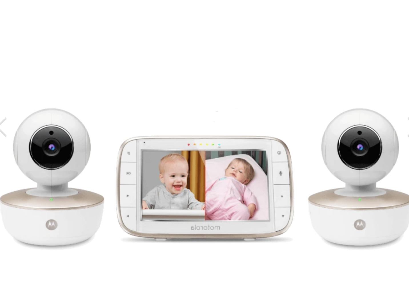 "Motorola 5""Portable Video Baby Monitor with Wi-Fi & Two Ca -"