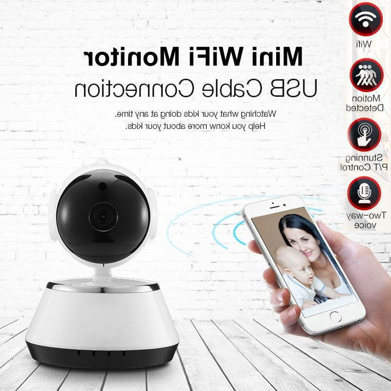 720P HD Wireless Wifi IP Camera Webcam Baby Pet Monitor Remo