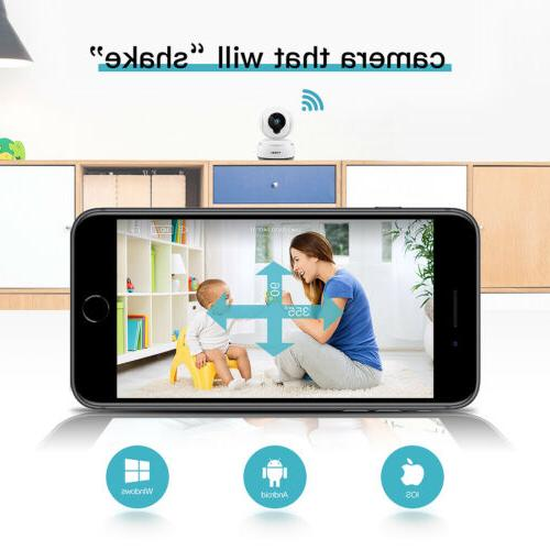 FREDI WIFI Camera Home Security Nanny Monitor
