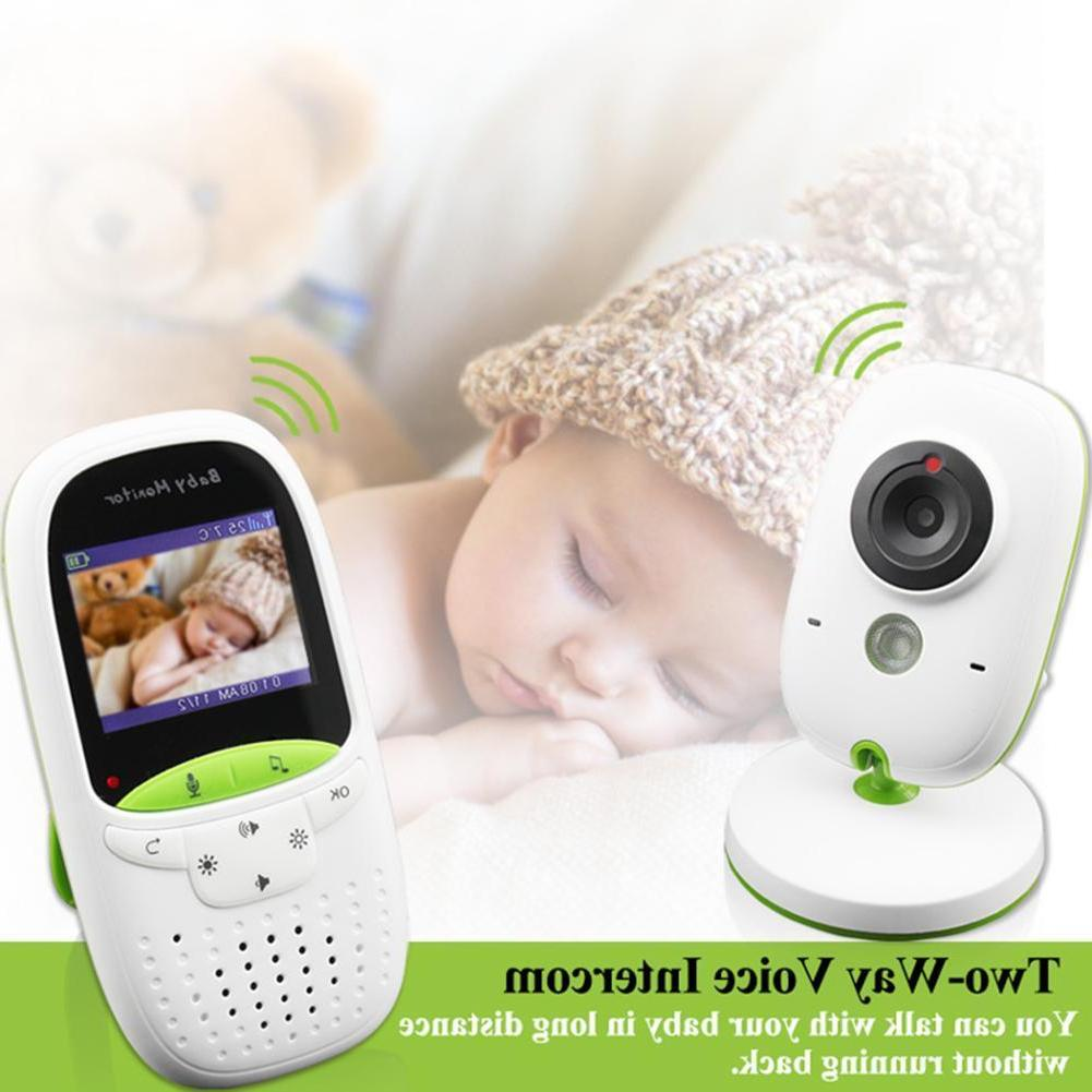 Digital Wireless 2.4GHz Color LCD Baby Monitor Camera Night