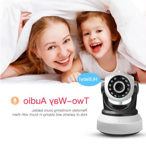 Home Video Baby IP 720P Wireless Night Vision Wi-Fi cam PT