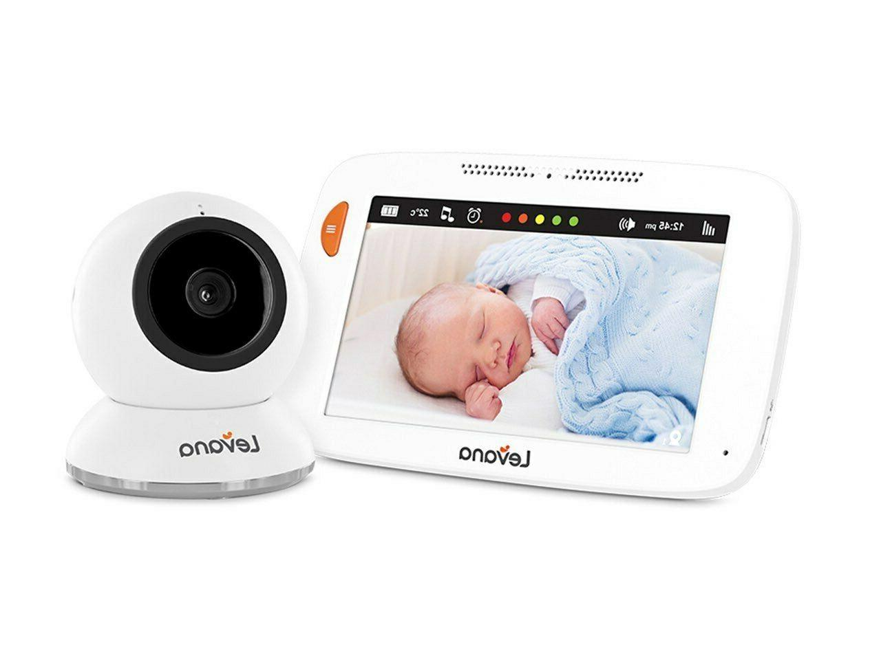 Levana Shiloh 5 inch HD Touchscreen Video Baby Monitor