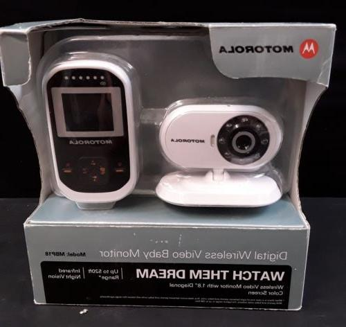 Motorola MBP18 Baby Monitor Video Infared With Microphone