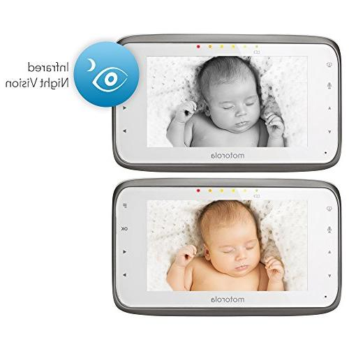 Motorola MBP854CONNECT-2 Baby Monitor 2 Cameras Parent Wi-Fi Internet