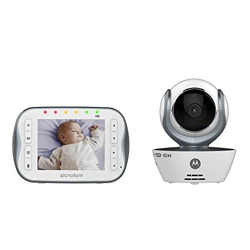 Motorola MBP843CONNECT Digital Video Baby Monitor with 3.5-I