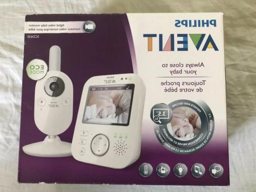 Phillips Avent Baby Monitor SCD630
