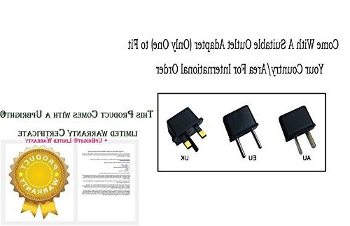 UpBright 5V Compatible with CD CDO-007 290089 SEW-3030WN SEW-3035 URC MX-880 MX-890