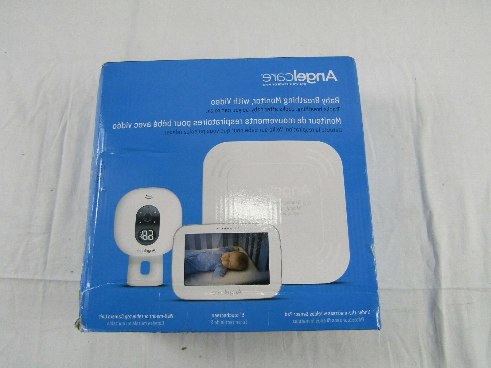 angelcare ac517 baby breathing monitor with 5