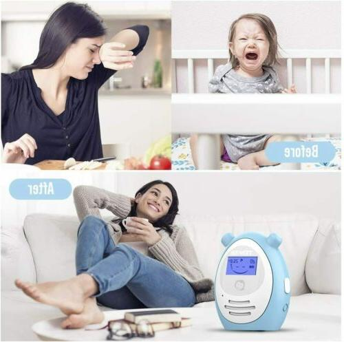 TENKER Two-way Baby Monitor Temperature Intercom System