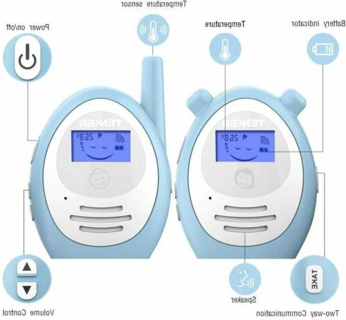 TENKER Two-way Monitor Temperature Talk-back Intercom